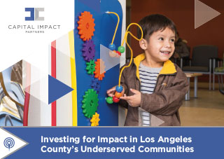 Cover of Investing in Los Angeles County Impact Brief