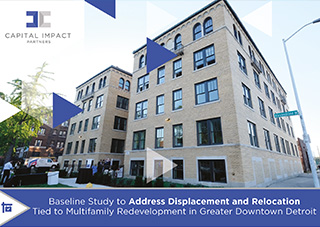 Cover of housing displacement risk assessment research report