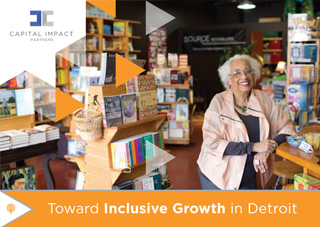 Cover of the Toward Inclusive Growth In Detroit report