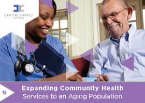 Cover of report detailing findings from national conversation on FQHCs and aging