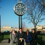 Bradford Frost give Detroit tour to Capital Impact staff