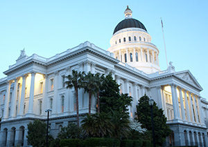 Exterior of Sacramento State Capital