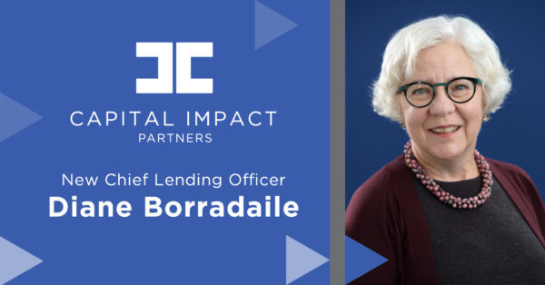 Diane Borradaile, Capital Impact's new Chief Lending Officer.