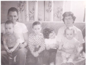 A young Rosemary Mahoney and her family.
