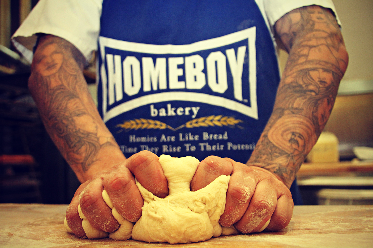 ​Homeboy Industries in Los Angeles supports returning citizens with employment and training.