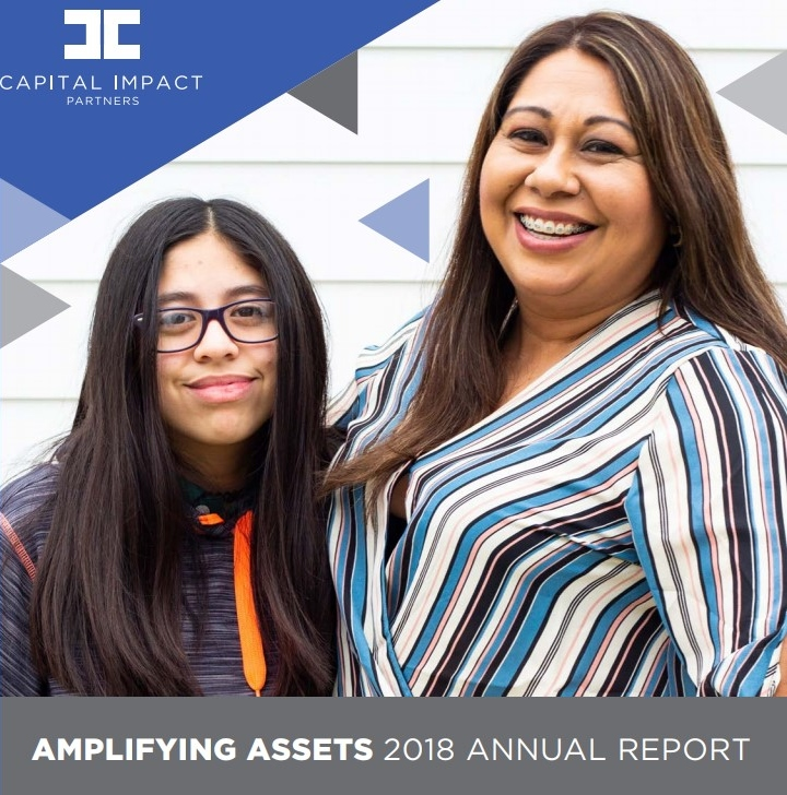 Cover of Capital Impact Partner' 2018 Annual Report