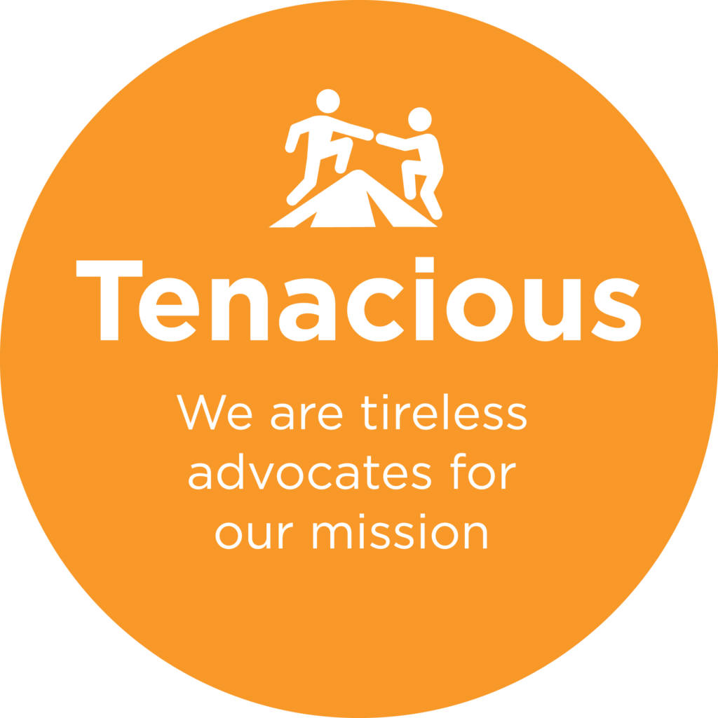 Capital Impact Partners Value Tenacious.