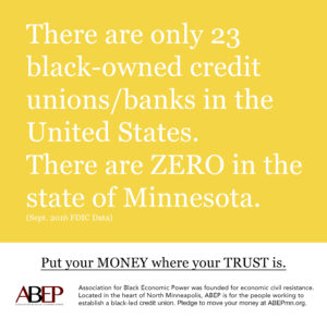 There are only 23 black-owned credit unions in the United States.