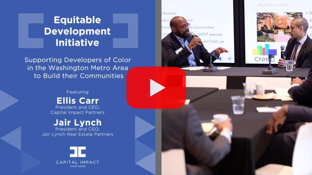 In this audio blog, Ellis Carr and Jair Lynch discuss how COVID-19 is impacting real estate developers of color, and how developers of color can navigate the real estate sector.