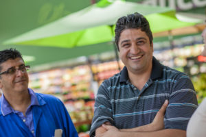 Sam Shina, owner of Imperial Fresh Market