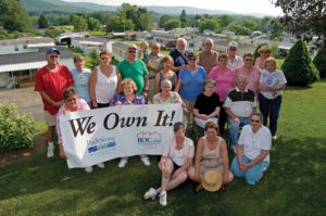 Cooperative owners of a manufactured home community