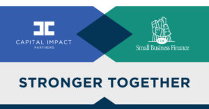 Capital Impact/CDC Small Business Finance Logo graphic